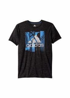 Adidas Short Sleeve Multi Sport Badge of Sport Tee (Big Kids)