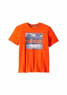 Adidas Short Sleeve Night Game Tee (Big Kids)