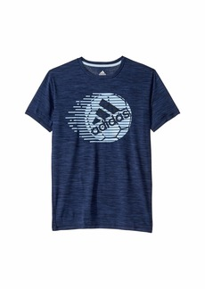 Adidas Short Sleeve Sport Ball Tee (Big Kids)