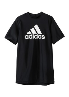 Adidas Short Sleeve Swim Tee (Big Boys)