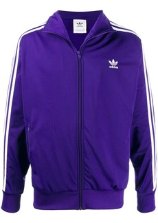Adidas side striped zipped sweatshirt