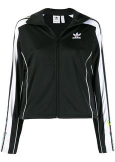 Adidas side stripes sports jacket
