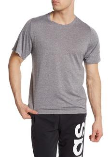 Adidas Sleeve Logo Crew Neck Tee
