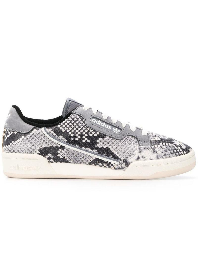 Adidas snakeskin effect sneakers