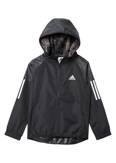 Adidas Solid Woven Jacket (Big Boys)