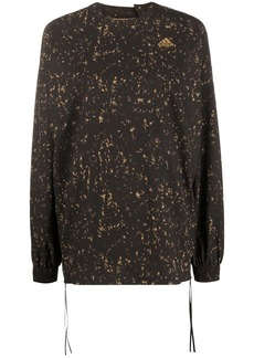 Adidas speckled pattern sweatshirt