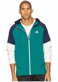 Adidas Sport ID Full Zip Woven Hoodie