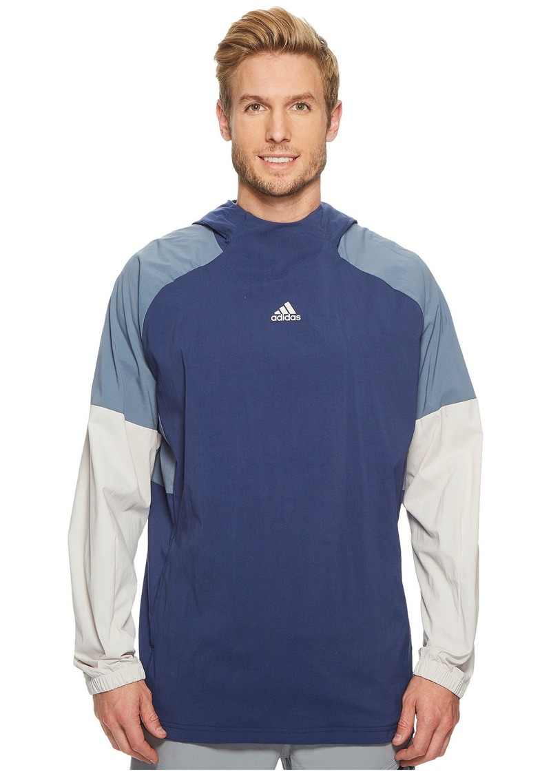 9e257c46c8 Adidas Sport ID Pullover Woven Hoodie