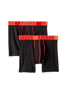Adidas Sport Performance Climalite 2-Pack Boxer Brief (Big Kids)