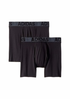 Adidas Sport Performance Climalite 2-Pack Boxer Brief (Big Kids)