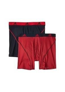 Adidas Sport Performance Climalite Boxer Briefs Underwear 2-Pack
