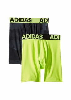 Adidas Sport Performance Climalite Graphic 2-Pack Boxer Brief (Big Kids)