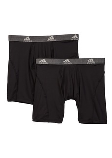Adidas Sport Performance Relaxed Boxer Briefs - Pack of 2