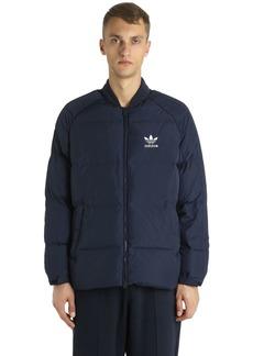 Adidas Sst Logo Printed Bomber Jacket