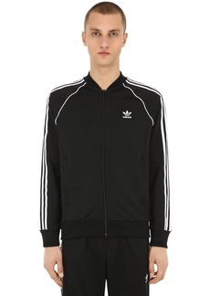 Adidas Sst Zip-up Cotton Blend Track Jacket