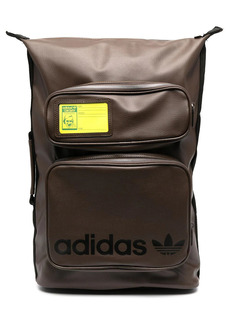 Adidas Stan logo zipped backpack
