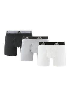 Adidas Stretch Cotton Boxer Brief - Pack of 3