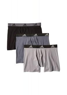 Adidas Stretch Cotton Boxer Brief 3-Pack