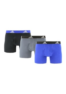 Adidas Stretch Cotton Trunk - Pack of 3