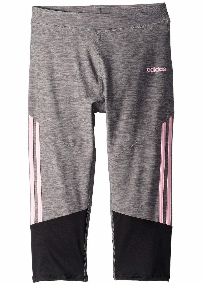 Adidas Stripe Capri Tights (Big Kids)