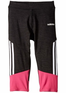Adidas Stripe Capri Tights (Big Kids)