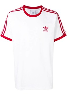 Adidas stripe detail T-shirt