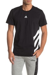 Adidas Stripe Graphic T-Shirt