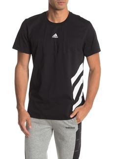 Adidas Stripe Graphic T-Shirt