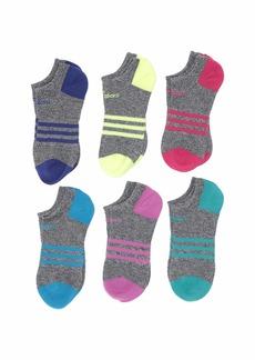 Adidas Superlite 6-Pack No Show Socks (Toddler/Little Kid/Big Kid/Adult)