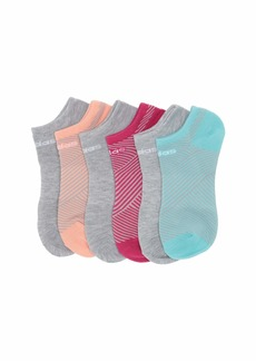 Adidas Superlite Adiangle No Show Socks 6-Pack (Toddler/Little Kid/Big Kid/Adult)