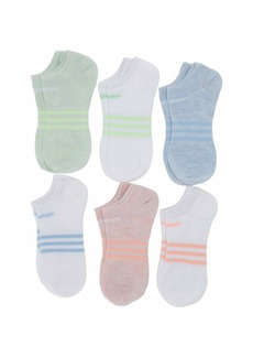 Adidas Superlite No Show Socks 6-Pack (Toddler/Little Kid/Big Kid/Adult)