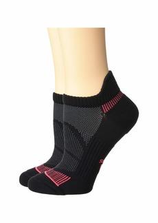 Adidas Superlite Prime Mesh III Tabbed No Show Socks 2-Pack