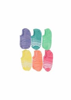 Adidas Superlite Super No Show Socks 6-Pack (Toddler/Little Kid/Big Kid/Adult)