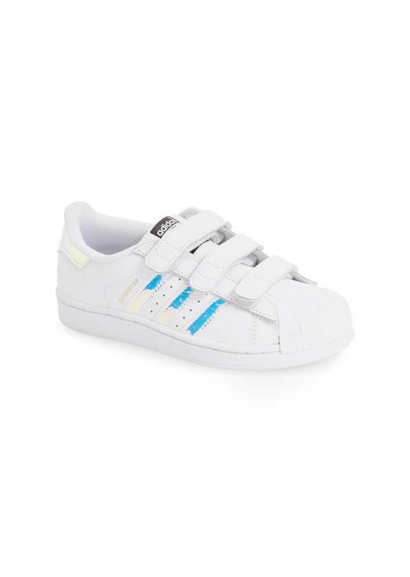 Adidas Superstar - Iridescent Sneaker (Baby, Walker, Toddler & Little Kid)