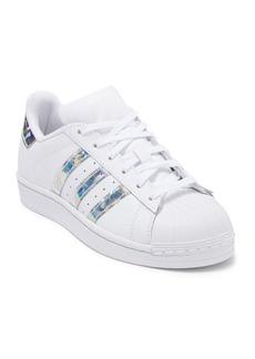Adidas Superstar Leather Sneaker (Big Kid)