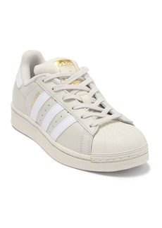 Adidas Superstar Leather Sneaker (Big Kid)