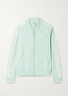 Adidas Superstar Striped Tech-jersey Track Jacket