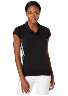 Adidas Sweater Knit Short Sleeve Polo