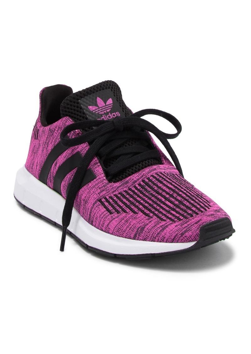 Adidas Swift Running Knit Sneaker (Big Kid)