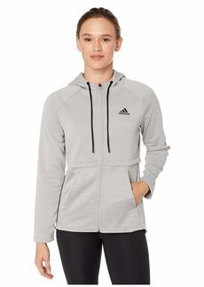 Adidas Team Issue Full Zip Hoodie