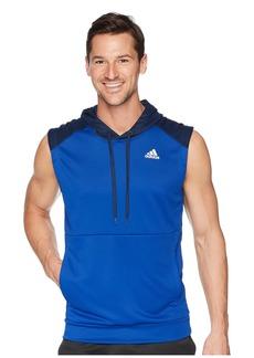 Adidas Team Issue Lite Short Sleeve Hoodie