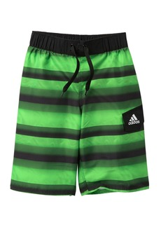 Adidas Tech Stripe Volley Shorts (Big Boys)