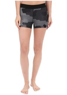 "Adidas Techfit 3"" Shorts Black White Print"