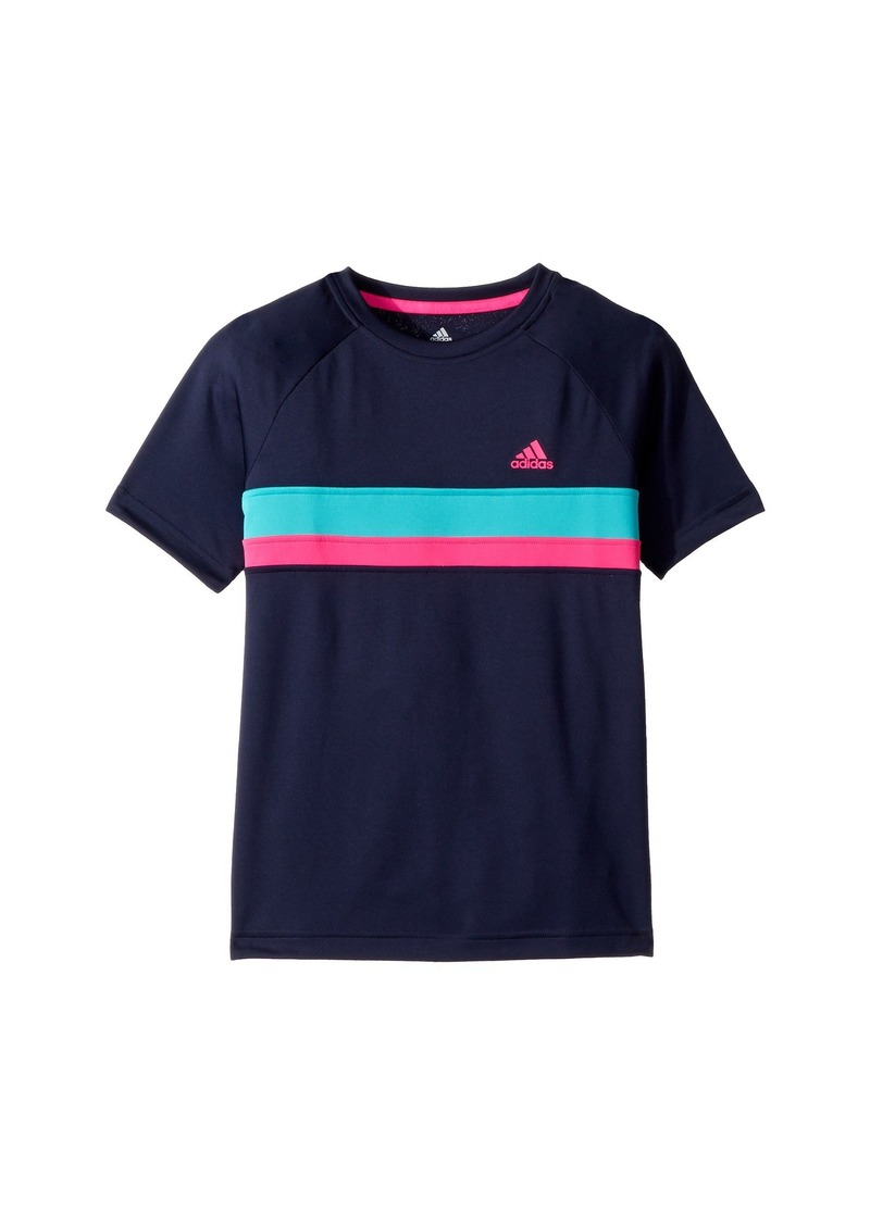 Adidas Tennis Club Color Block T-Shirt (Little Kids/Big Kids)