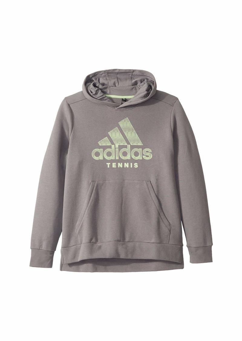 Adidas Tennis Club Hoodie (Little Kids/Big Kids)