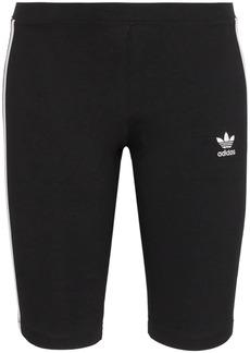 Adidas three-stripe cycling shorts