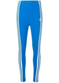 Adidas three stripe leggings
