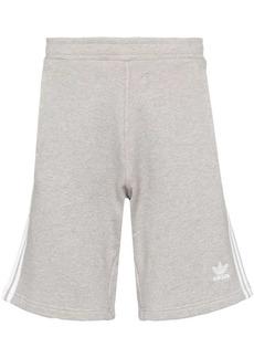 Adidas three-stripe track shorts