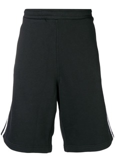 Adidas three stripe track shorts