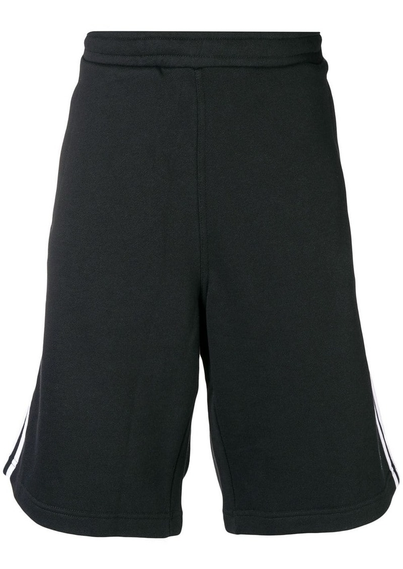 Adidas three stripe track shorts